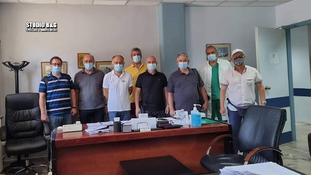 Επίσκεψη στο Νοσοκομείο Ναυπλίου του Πανελλήνιου Συλλόγου Νοσηλευτών