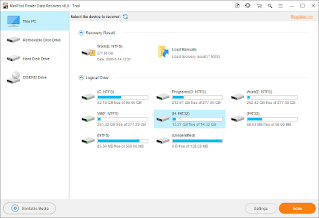 Download MiniTool Power Data Recovery a full version of the best file recovery program