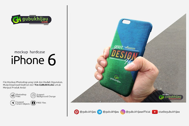 Mockup Case iPhone 6 by gubukhijau