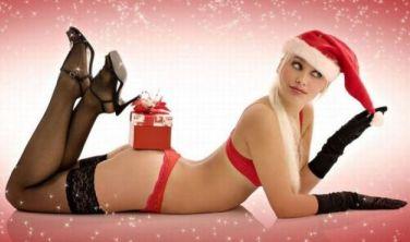 Hot Merry Christmas Girls