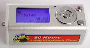 My Bits & Bobs: CMTech LiveMusic CA-F200 MP3 player