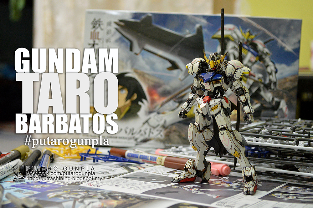 HG IBO 1/144 GUNDAM BARBATOS Custom Paint by Putra Shining