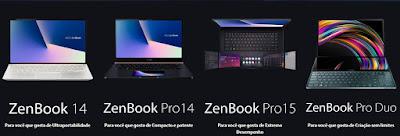 Lançamento ZenBook no Brasil