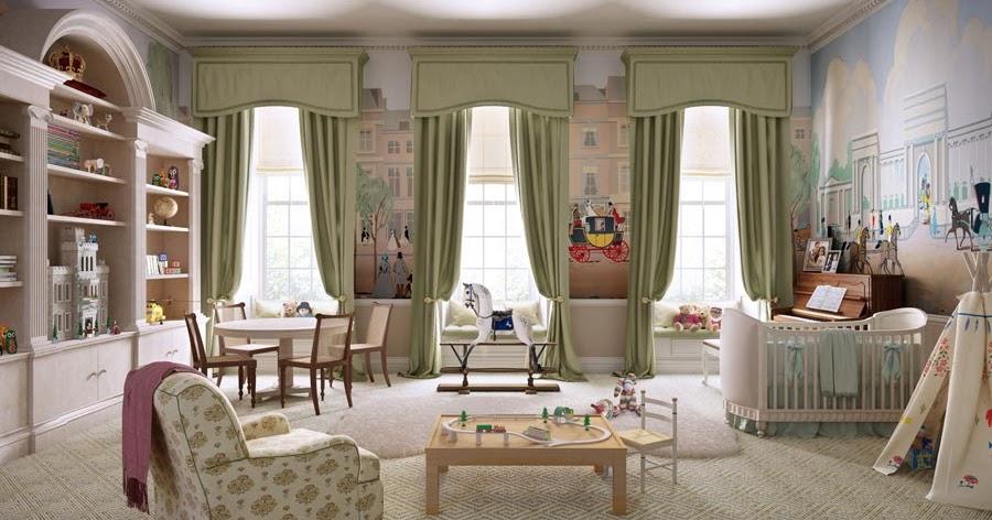Hydrangea Hill Cottage: Royal Baby Nursery Designs