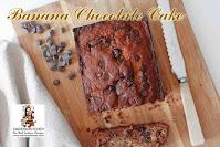 viaindiankitchen - Banana Chocolate Cake