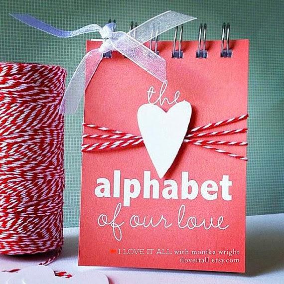 #alphabetofourlove #alphabet #abcs of our love #love #minialbum #iloveitall #etsy