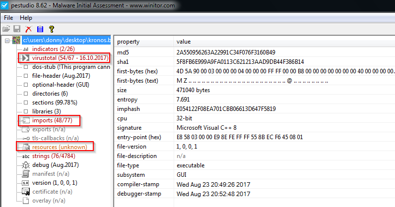 Extracting encrypted contents from Kronos Banking Trojan
