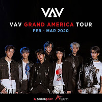 Concierto de VAV en Colombia 2020