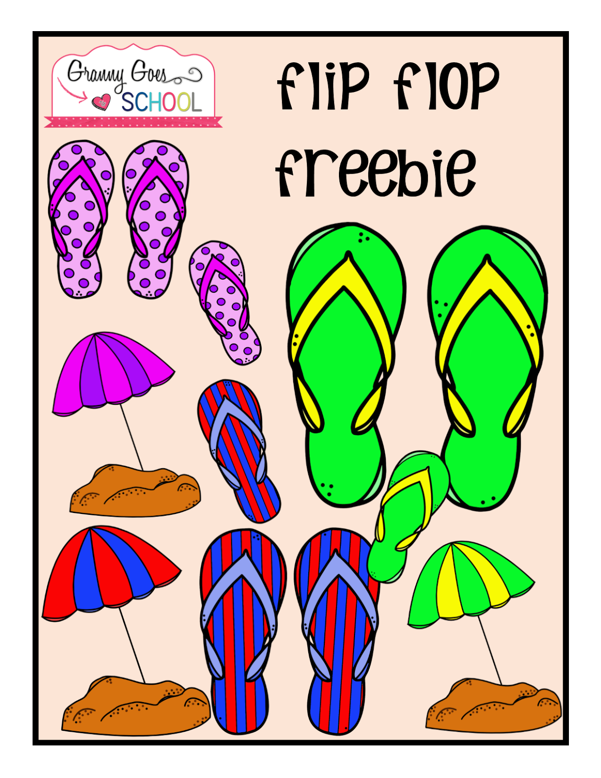https://www.teacherspayteachers.com/Product/Flip-Flop-Freebie-1835559
