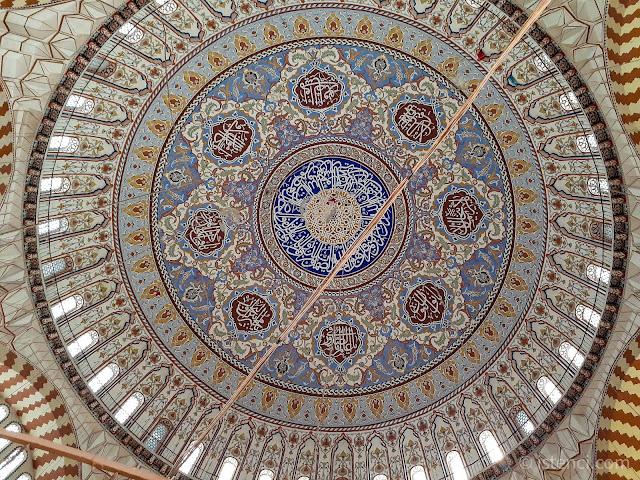 Edirne Selimiye Camisi'nin Kubbesi