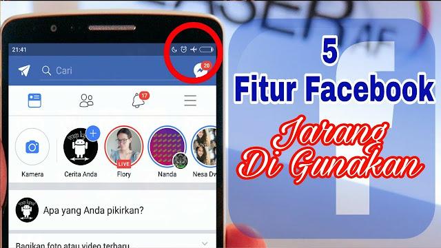 Fitur Facebook ini Jarang Digunakan