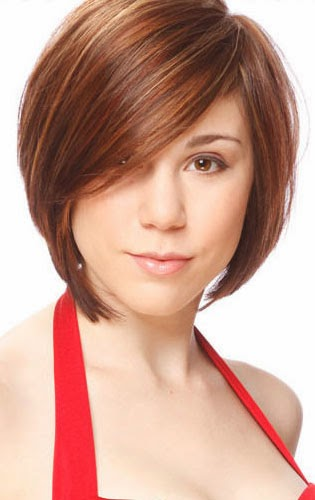 Strange Hairstyles Big Face Short Hairstyles Hairstyle Inspiration Daily Dogsangcom