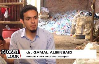 subhanallah, dokter gamal rela dibayar sampah, kenapa?