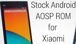 Cara Install Stock Android Di Xiaomi Redmi Note 3