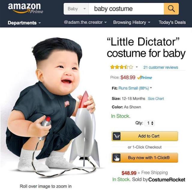 Дитячий костюм диктатора