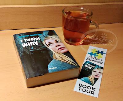 Temperature Blanket #7 & BookTour: Z twojej winy - K.Śmigielska