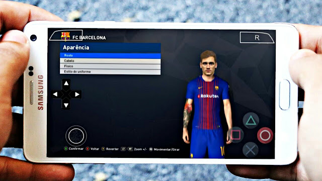 NEW!! PES 2018 LITE 700MB UPDATED REAL FACES EUROPEAN TIMES PPSSPP/PC/PSP/ANDROID