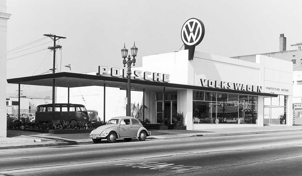 John von Neumann's Competition Motors dealership in Los Angeles, CA