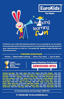 EuroKids Admission Form 2018 Fee structure, Job, Franchisee