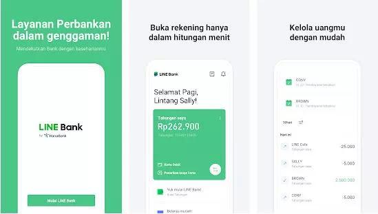 Cara Buka Rekening Line Bank-1