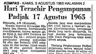 Sejarah Tax Amnesty di Indonesia