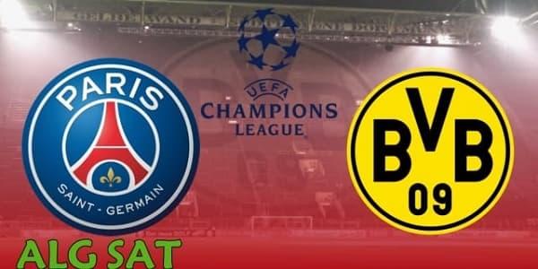 بوروسيا دورتموند ضد باريس سان جيرمان -بوروسيا دورتموند- باريس سان جيرمان -دوري أبطال أوروبا