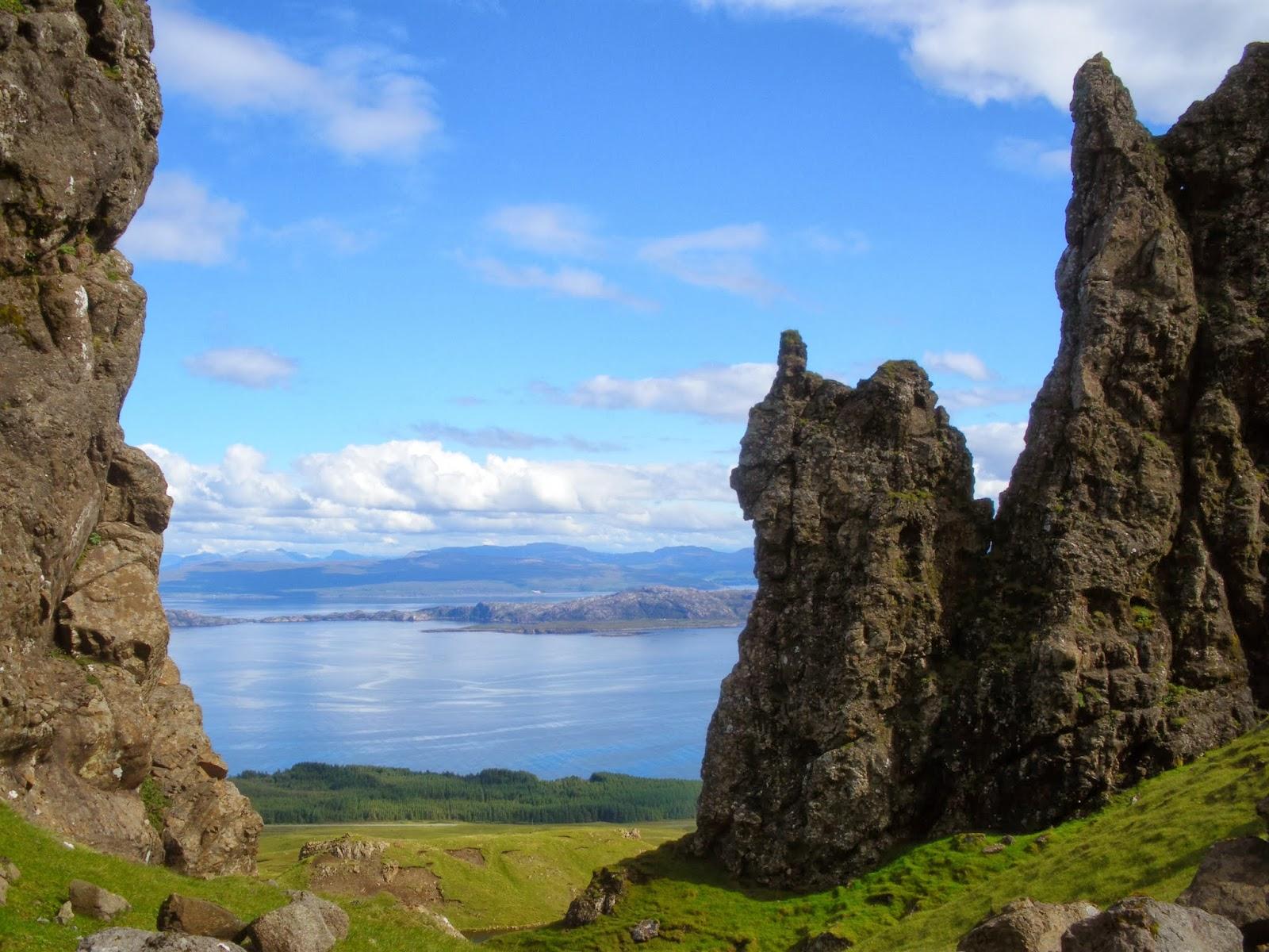 Isle of Skye, Trotternish, Highlands, Scotland, Escocia, United Kingdom, Old Man of Storr