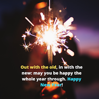happy new year whish | happy new year captions | InstaCaptions