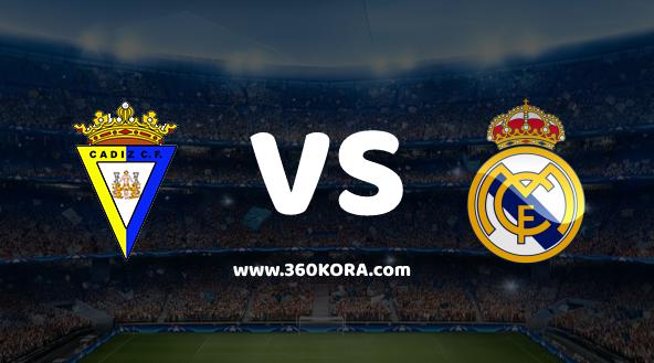مشاهدة مباراة ريال مدريد وقادش بث مباشر