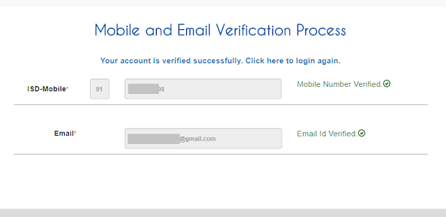 picture to show that IRCTC registration complete