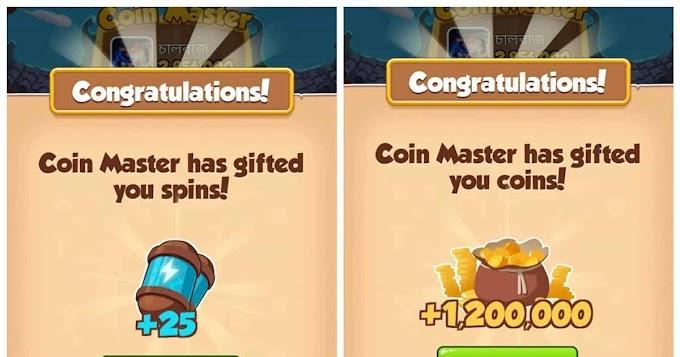Giros grátis em Coin Master - Recompensas de hoje - 20/07/2021