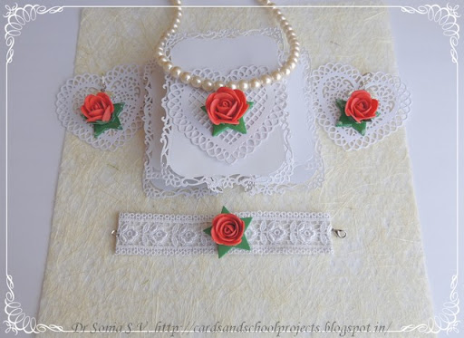 diy foam jewellery
