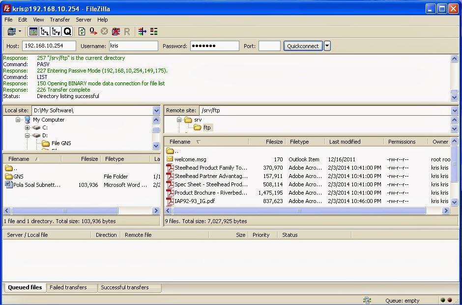 Cara Install Proftpd di Ubuntu Server 12.04