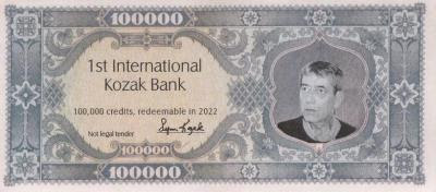 Fake banknote