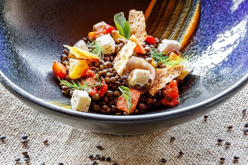 Puy Lentils & Burrata