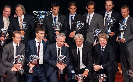 Men's Singles Players who hold the No.1 Tennis Ranking in ATP Tour history.