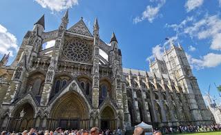 Puerta de entrada para visitar Westminster Abbey.
