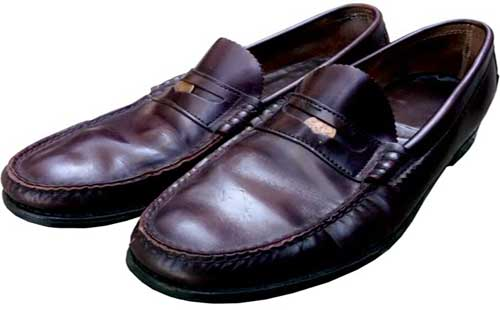Model Sepatu Pantofel Penny Loafers