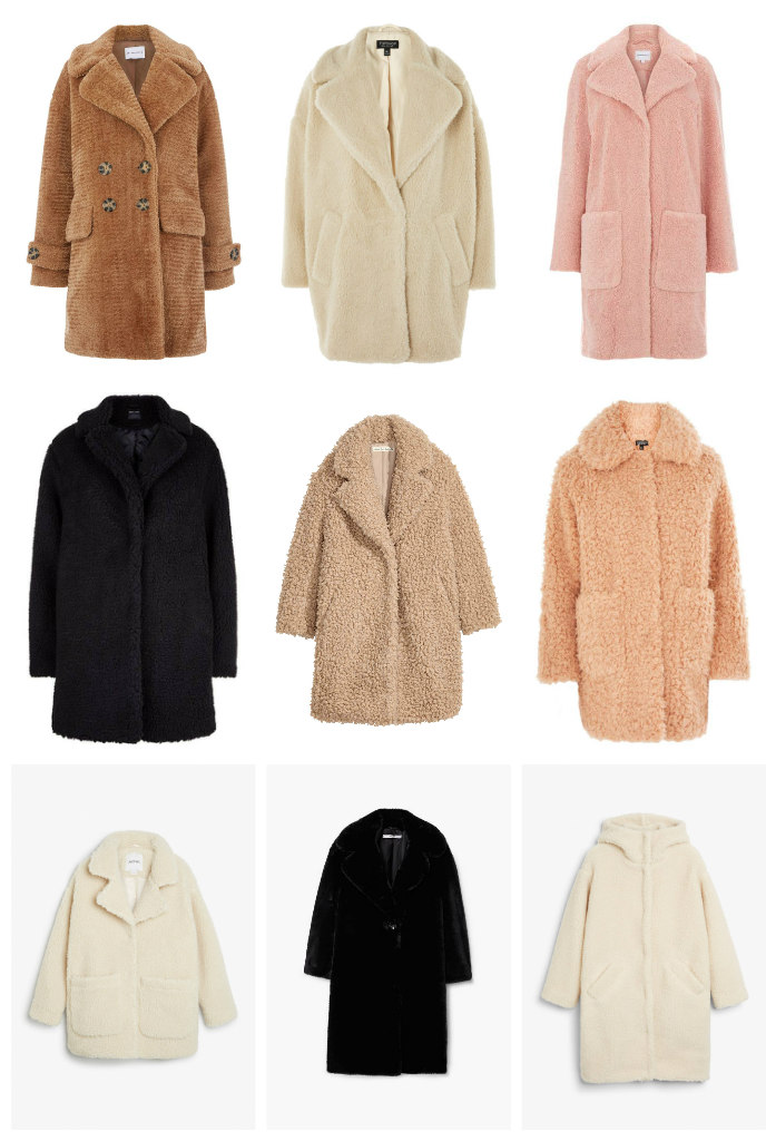 teddy coats, best teddy coats