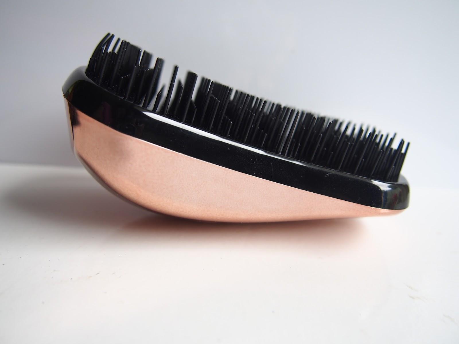 Dessata Rose Gold Hair Brush Review Demo