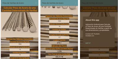 calcular peso de barras de acero