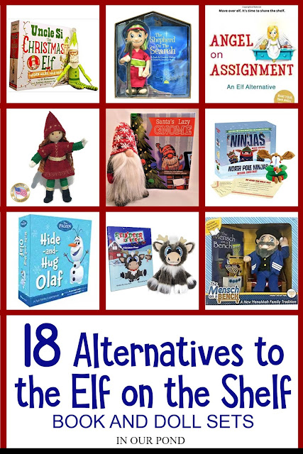 18 Alternatives to the Elf on the Shelf // In Our Pond // Christmas Countdown // Advent // Toys and Books for Christmas