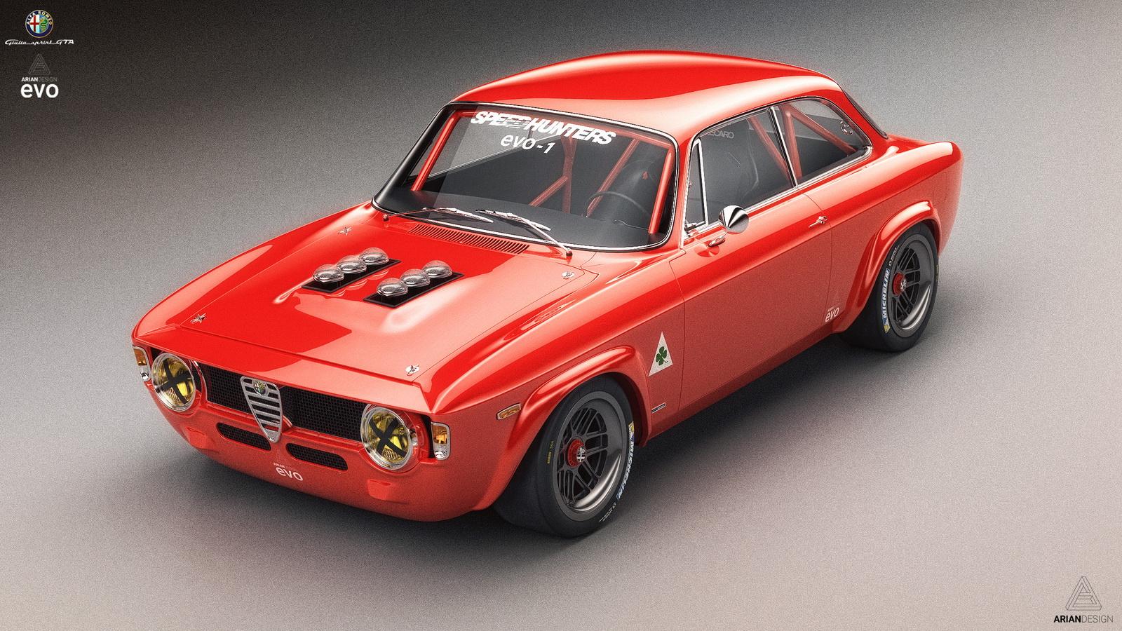 Uber Black Driver >> This Classic Alfa Romeo Giulia GTA Looks So Yummy, We Wish ...