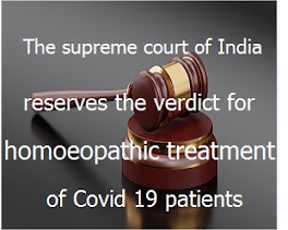 The supreme court of India reserves the verdict for homoeopathic treatment of Covid 19 patients