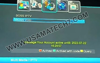1506T-F New Software 3 Years IPTV Free