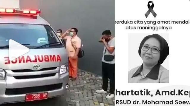 VIRAL Lagi Perawat di Surabaya Meninggal karena Covid-19, 'Banjir Tangis', 1 Dokter Juga Berpulang