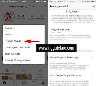 Cara Melihat Data Akun Instagram Sendiri Dan Orang Lain