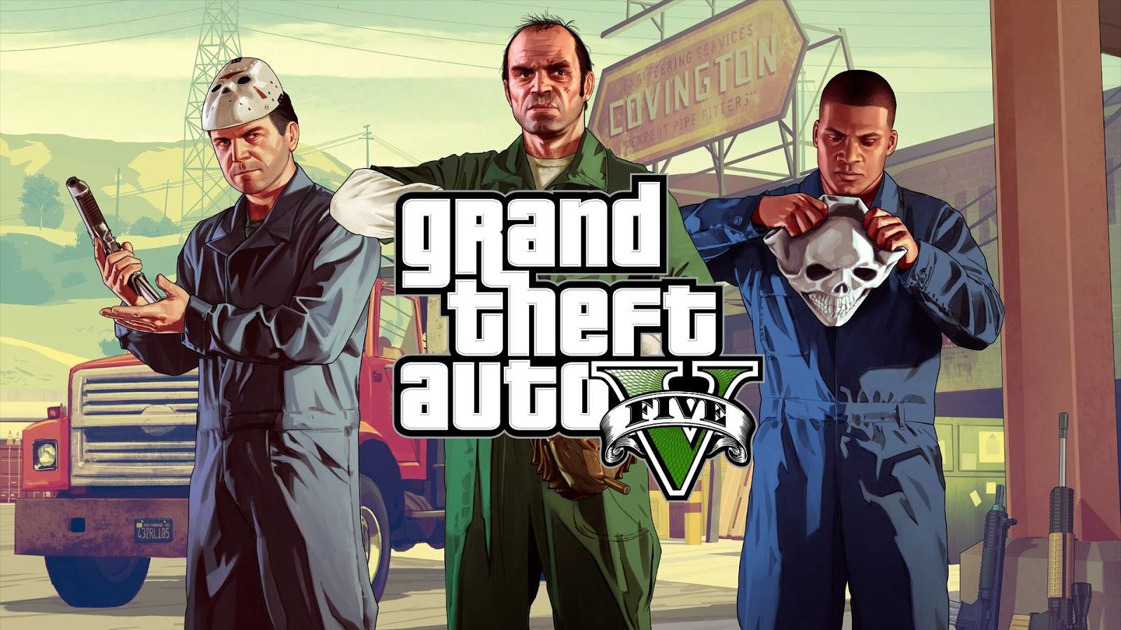لعبة العصابات والعالم المفتوح لعبة Grand Theft Auto V