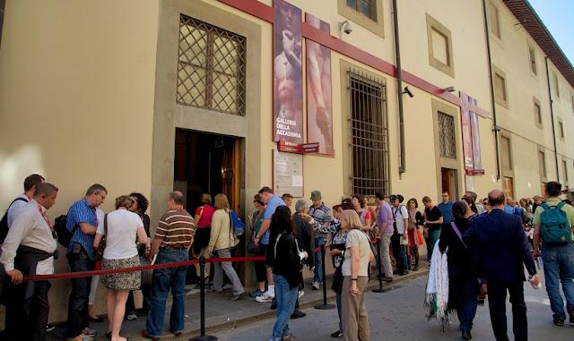 Informações sobre a obra de arte David em Florença
