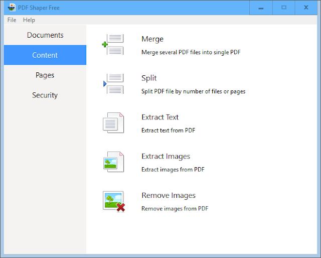 PDF Shaper 7.0 | Convertir PDF a varios formatos, extraer, unificar y mucho más